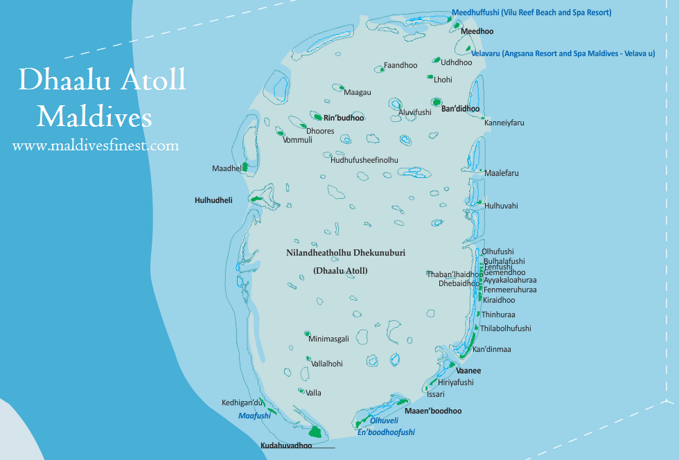 Full Map Of Dhaalu Atoll Maldives Org