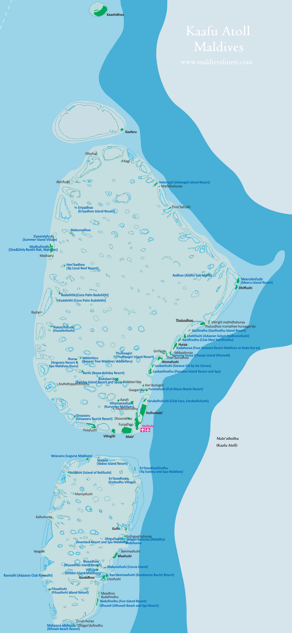Maldives map shows where is Maldives located Maldives Map Org