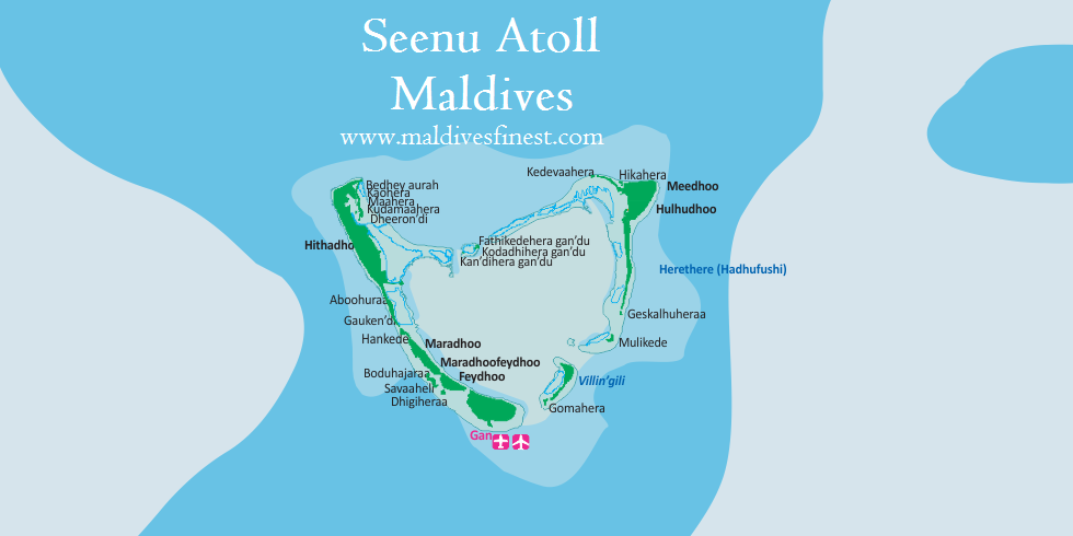 Seenu Atoll Information And Map Maldives Org